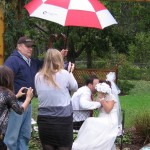 Kissing Bench RAIN - Costello Weddings New Jersey